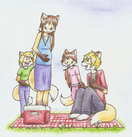 Family Time -for Brian-Foxglove- by Mister-Saturn