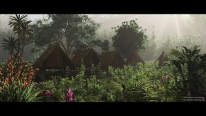 Bazzo's Bamboo Village by KnowYouAre