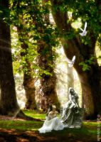 A prayer in the quietness by dilarosa
