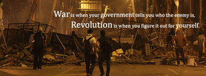 Difference between War and Revolution by DeCLaRcK