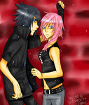 Noctis x Lightning by Ozruto