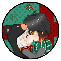 Under the Mistletoe by Anini-Chu