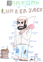 Anatomy of a Lumberjack by Bleu-Ninja