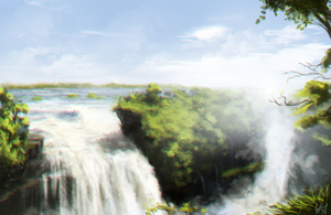 Waterfall Reference Thumbnail by Brony2you