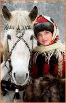 russian peasant girl by Beauty4ever