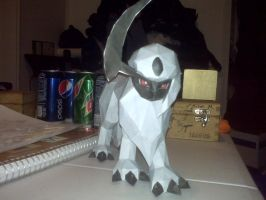 Absol Papercraft by Tyerva-Sama