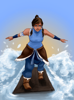 Korra's coming ! by Ombre-Lumineuse