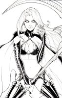 Lady Death Merciless Onslaught Sketchcover 1 of 5 by sorah-suhng