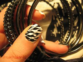 Houndstooth Zebra by DreamWalker412