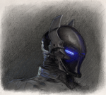 Arkham Knight Portrait by Hewison