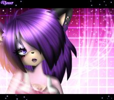 Purple The Dog by vlower