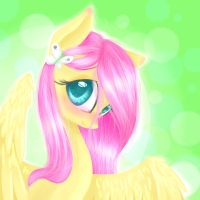 Fluttershy Portrait by Alice4444DM