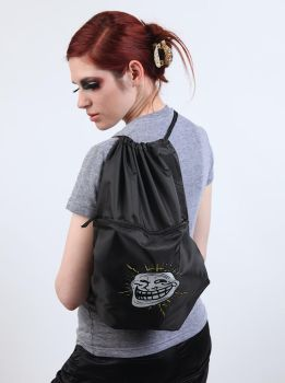 Trollface Knapsack by deviantWEAR