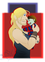 MCU: Uncle Thor by LochCamaen