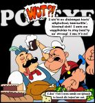Popeye vs. Taiwan Cooper by mightyfilm