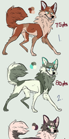 PointAdopts-part4 :Closed: by SilverPocky