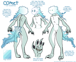 Comet Reference sheet by Astronblackmoon