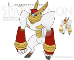 Pkmn Pantheon - Sparthenon by Prinny-Dood