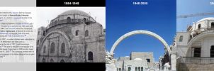 Hurva Synagogue 1864-2010 by tortuegraphics