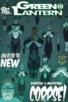 Green Lantern... Corpse by Juggertha