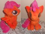 Mini Scootaloo Plush by Sophillia