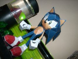 Sonic Papercraft by trebory6