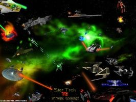 Star Trek vs Star Wars by RBL-M1A2Tanker