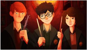 Harry Potter : 1st Year. by Beruseruku