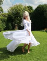 elvish dress stock 5 by Liancary-Stock