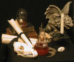 Potions Master's Desk 02 by lockstock
