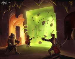 The gelatinous green cube by Shockbolt