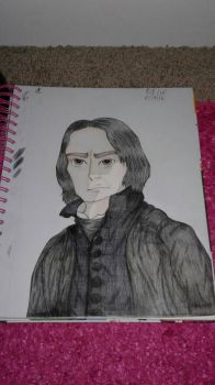 Severus Snape by Youtuberlife124
