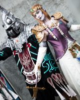 Zant and Puppet Zelda by seifer-sama