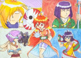 Slayers gone Naruto by earthstar
