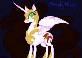 X-over OC- Bloody Mary by VoltaliatheMajestic