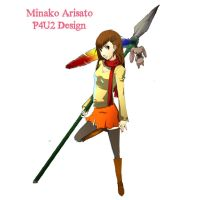 Minako Arisato P4U2 Character Poster Start by xMakeDamnSurex