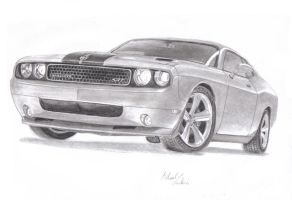 Dodge Challenger by MadMike27