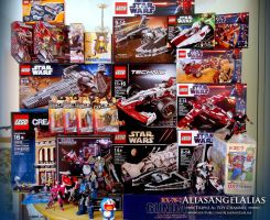 Toy Haul From January to March 2013 by aliasangel2005