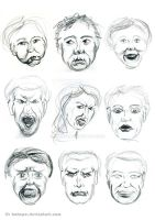 Facial Expressions by hakepe