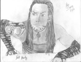 Jeff Hardy by PandaCookie013