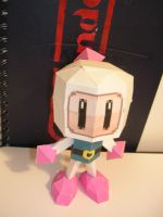 Bomberman Papercraft by Tiffyx
