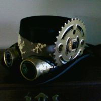 SteamPunk Top Hat by UtaNeko