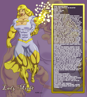 Lady Might Bio by hulkdaddyg