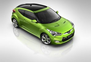 Hyundai Veloster front by subaqua