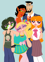 PPG - Hey it's that weird family by LadyKeane
