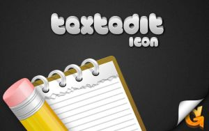 TextEdit Icon by grebtech
