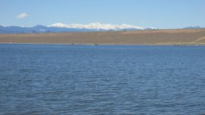 Cherry Creek Reservoir-Pikes Peak by candysamuels