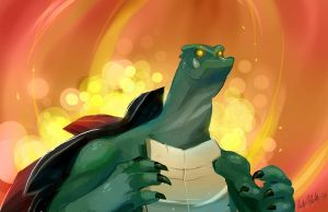 Gamera by AndyKluthe