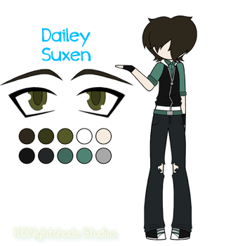 Dailey Suxen Reference Sheet by KittyDarner