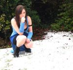 rinoa, snow and thinking by J-PO